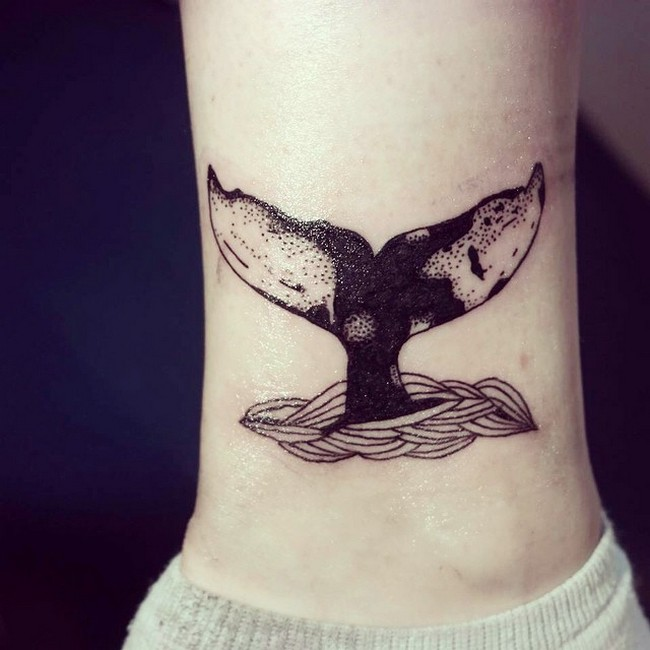grey-and-black-whale-tail-tattoo