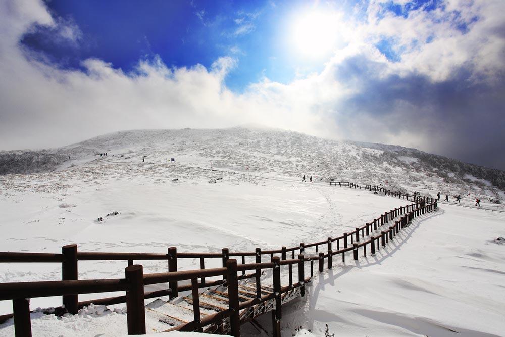漢拏山半天登山路線介紹