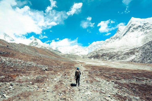 尼泊爾,登山,挑夫