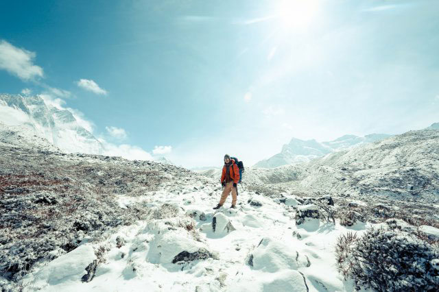 尼泊爾,雪山