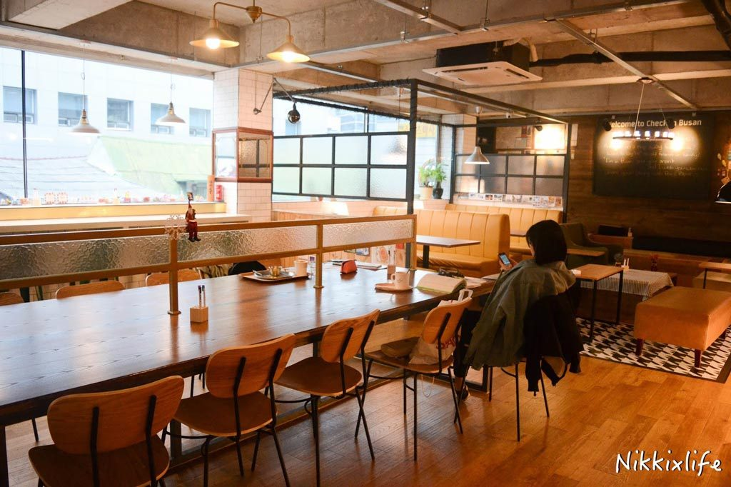 Check in Busan Cafe