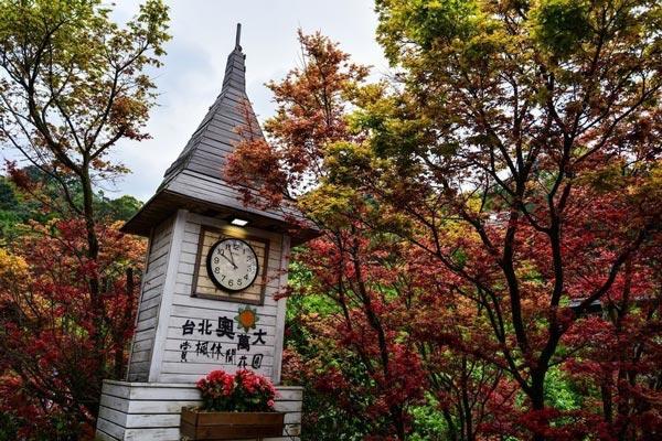 台北紅葉景點 2017
