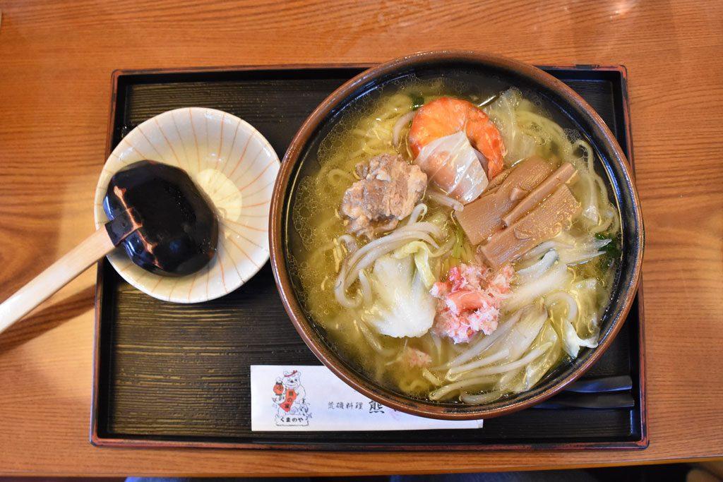 知床海鮮麵