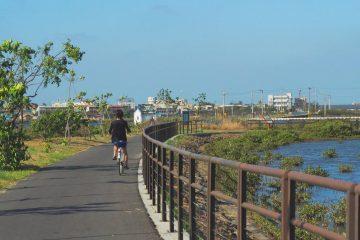 台南北門區踏單車