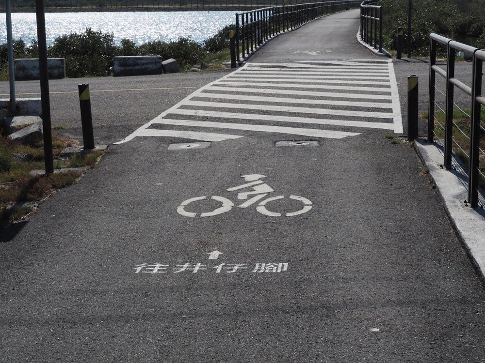 井仔腳鹽田,單車