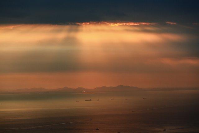 屯門青山,日落,攝影好去處