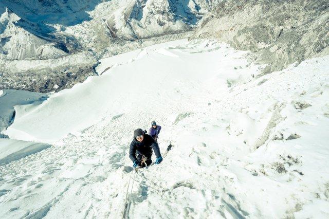 尼泊爾,攀山,冰爆