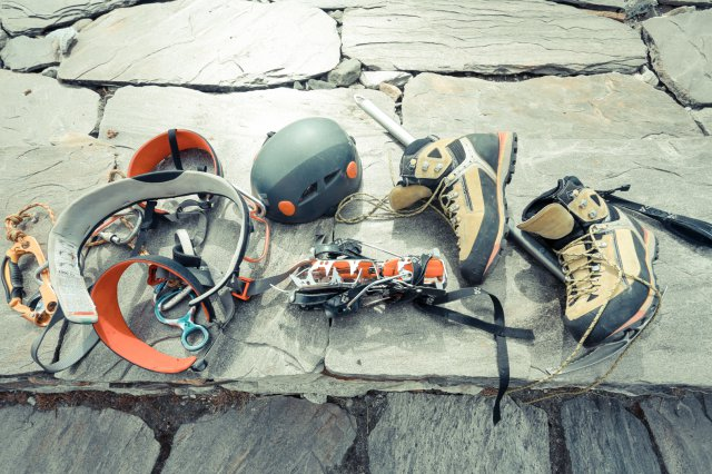 尼泊爾,登山裝備