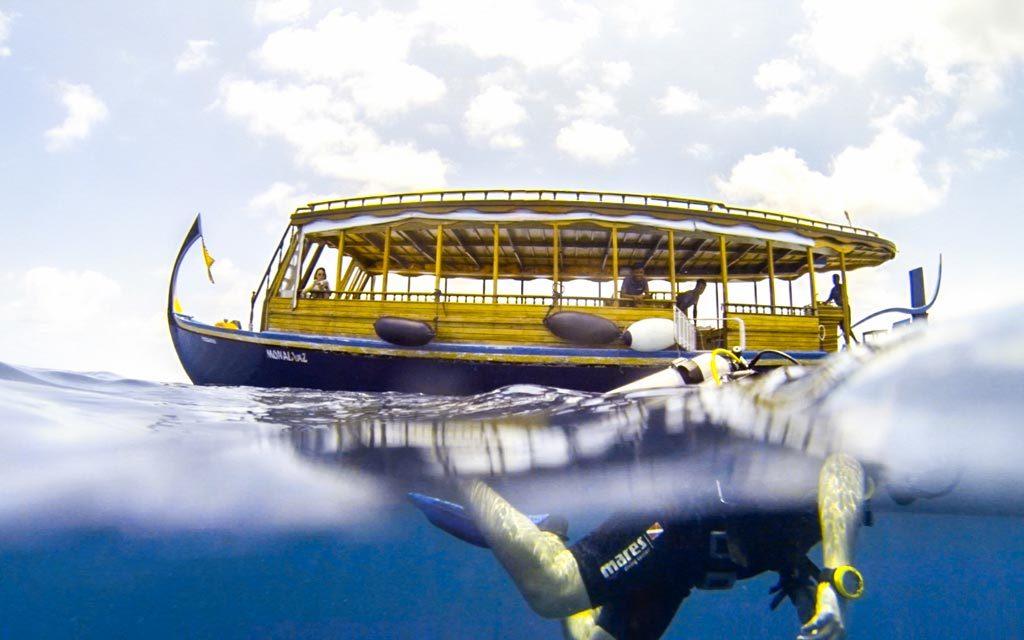 馬爾代夫,天堂潛水員