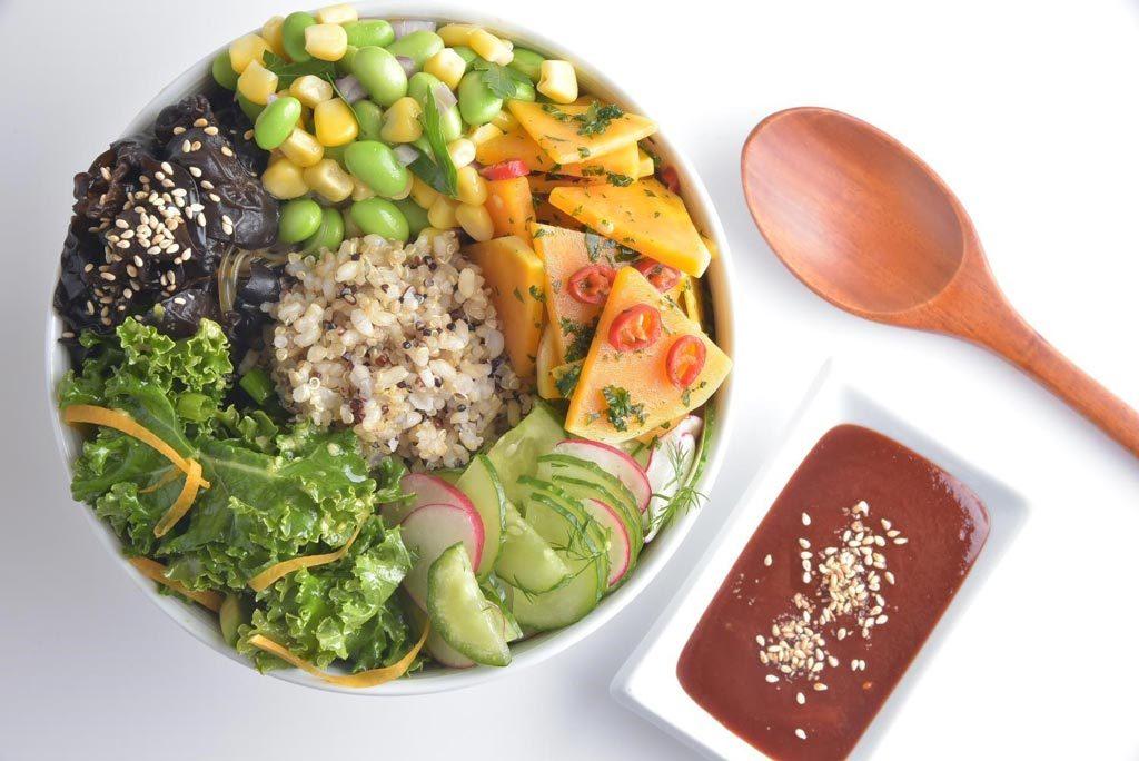Pure nood food – 純素韓式拌飯Bibimbap