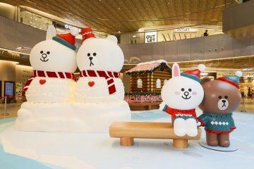 2019-聖誕節-BROWN-&-CONY浪漫放閃