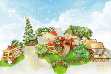 2019-聖誕節-屯門市廣場HelloKitty-Müllerchen-聖誕相遇