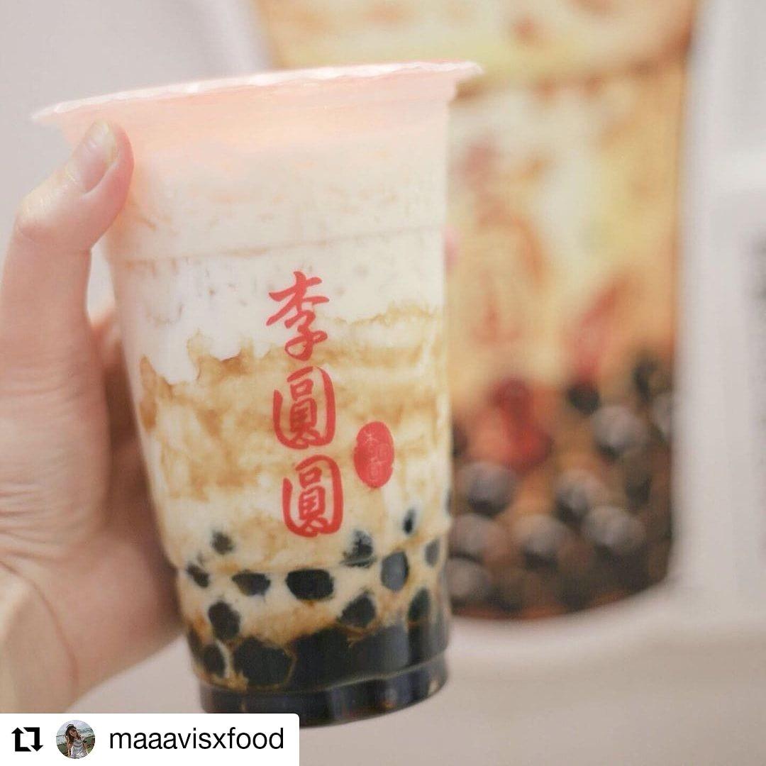 荔枝角黃店-李圓圓珍珠奶茶